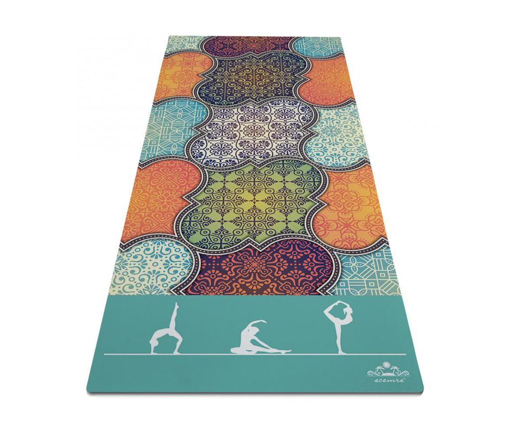 Saltea pentru yoga Oriental Beauty 65x185 cm imagine