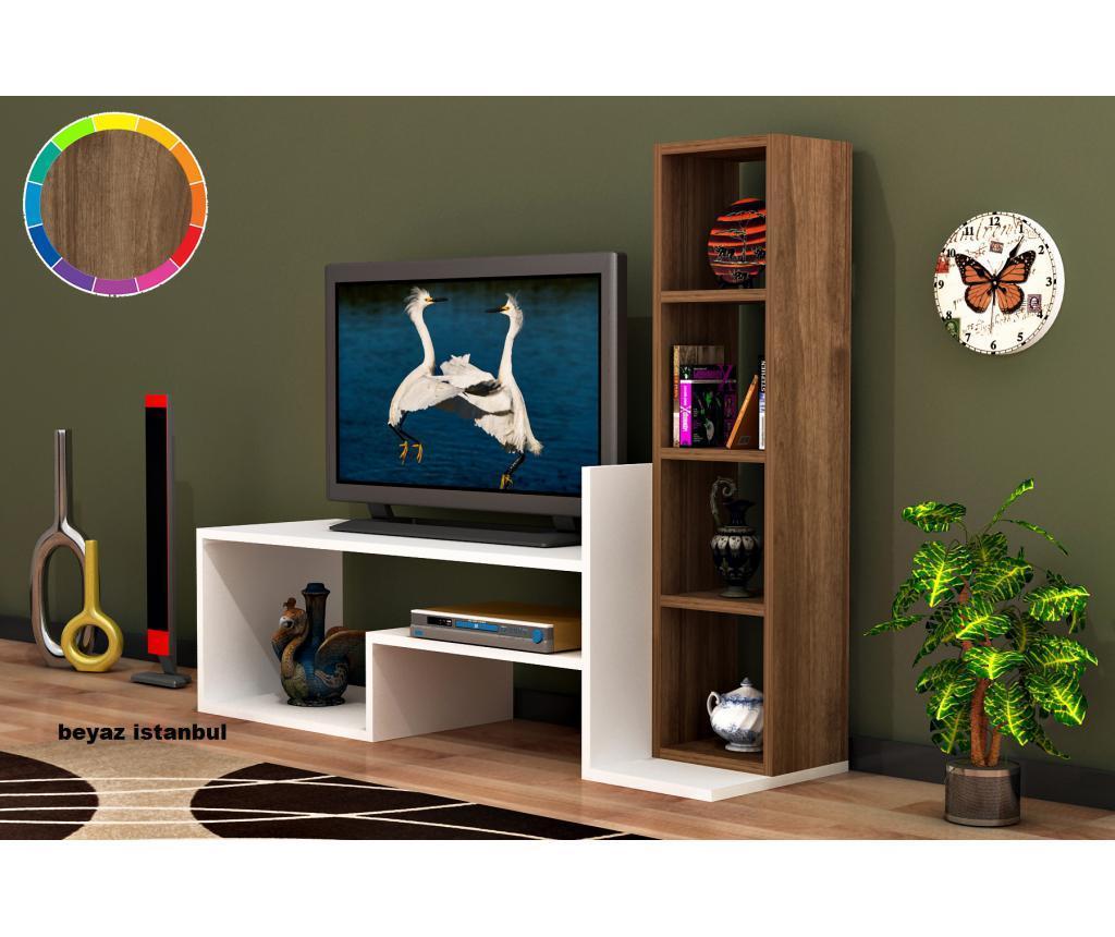 Set 2 piese de mobilier - Oyo Concept, Alb imagine