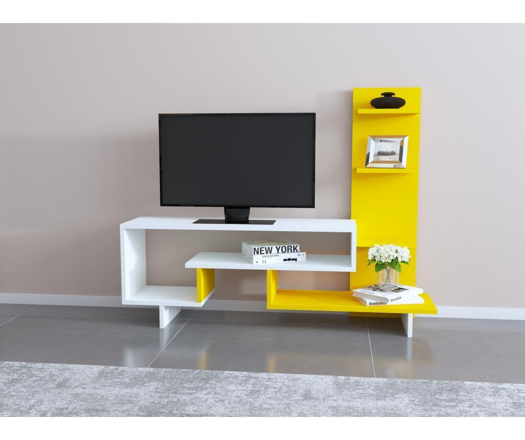 Comoda TV - Oyo Concept, Galben & Auriu