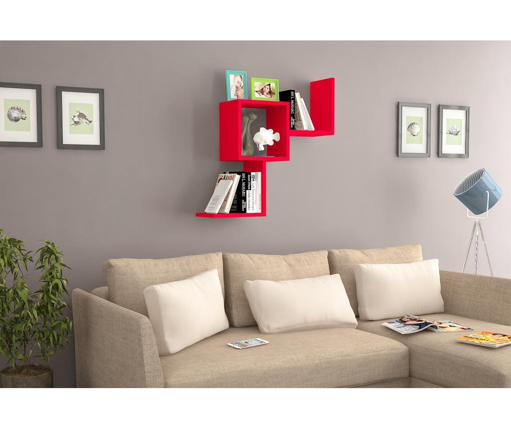 Raft de perete - Oyo Concept, Rosu imagine