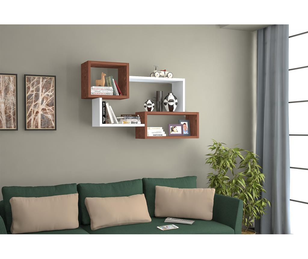 Raft de perete - Oyo Concept, Alb imagine