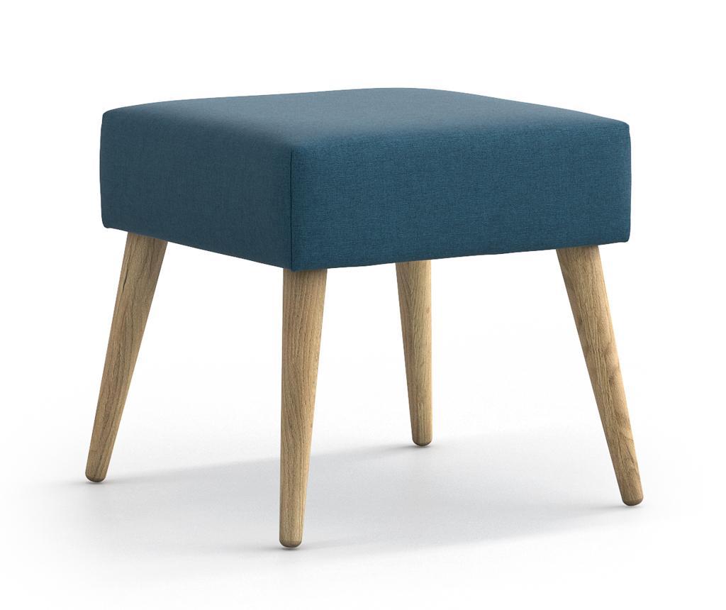 Taburet pentru picioare Jane Blue - Optisofa, Albastru imagine