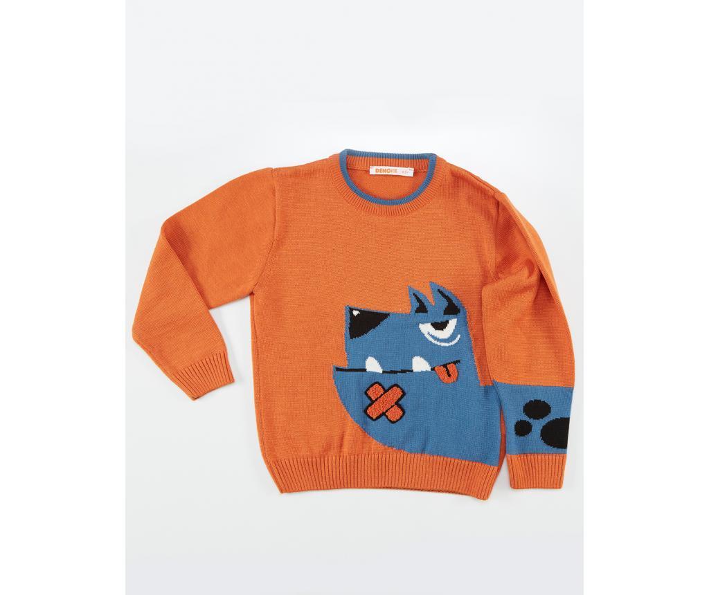 Pulover Dog Boy 7-8 ani - Denokids, Multicolor poza
