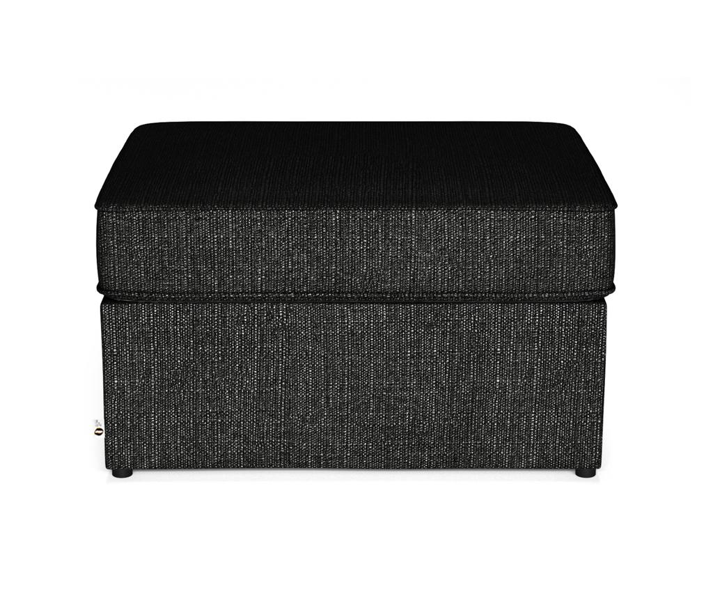 Bancheta extensibila Brady 80 Uni - My Pop Design, Negru