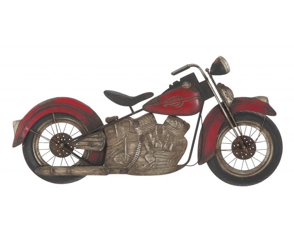Decoratiune Motorbike Panel Red - Mauro Ferretti, Negru,Rosu imagine