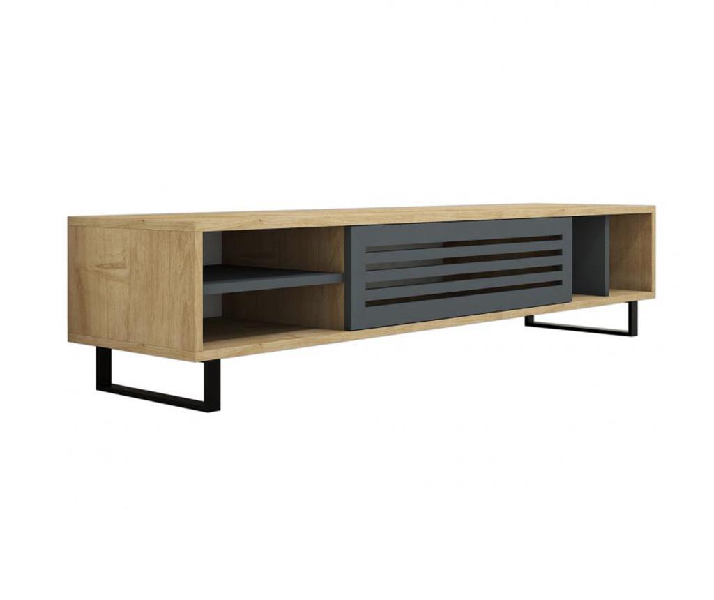 Consola TV Safir - Puqa Design, Multicolor imagine