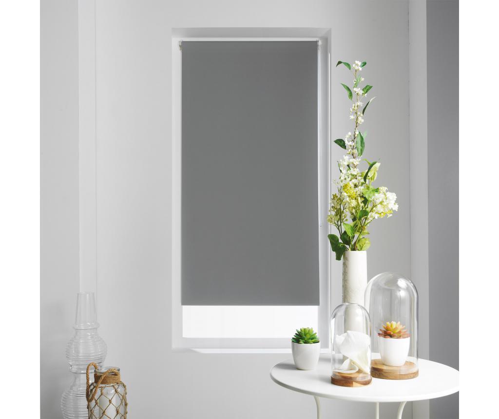 Jaluzea tip rulou Occult Grey 120x180 cm - store d'intérieur, Gri & Argintiu poza