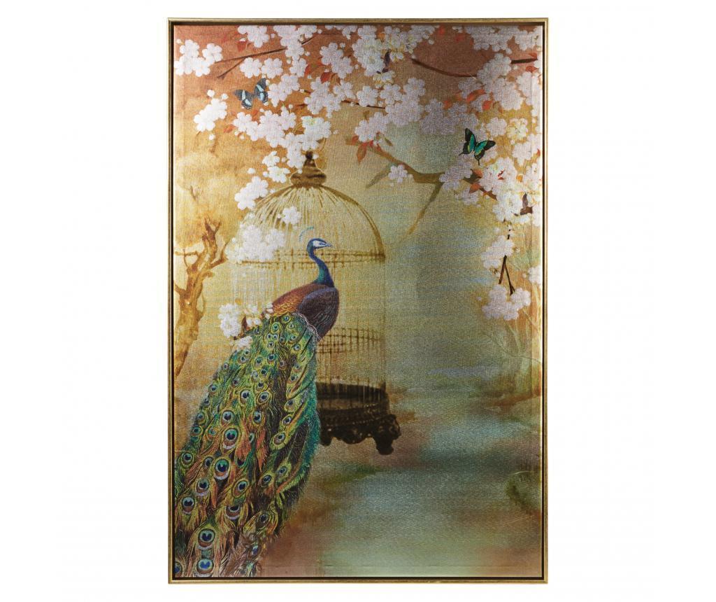 Tablou Peacock 60x90 cm imagine