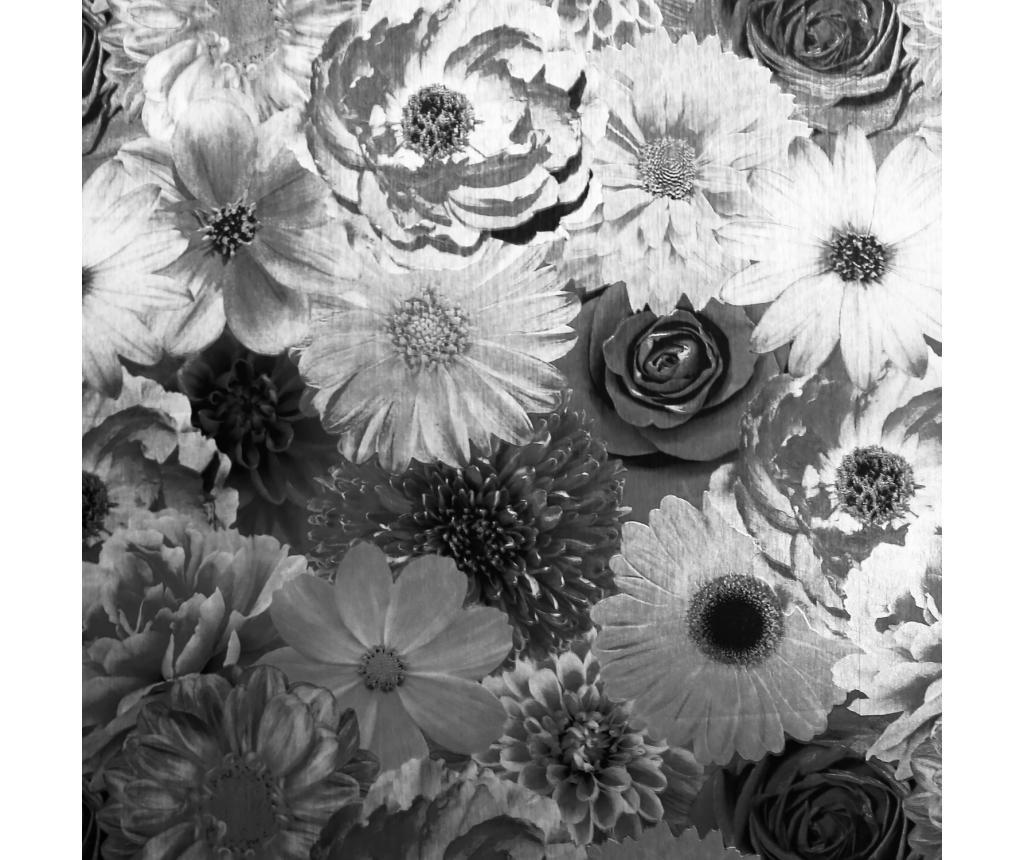 Tapet Foil In Bloom Mono 53x1005 cm - Arthouse imagine