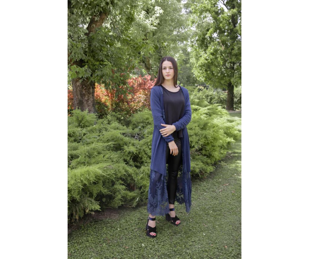 Cardigan dama Modigliani Versailles Night Blue - Chez Moi, Albastru