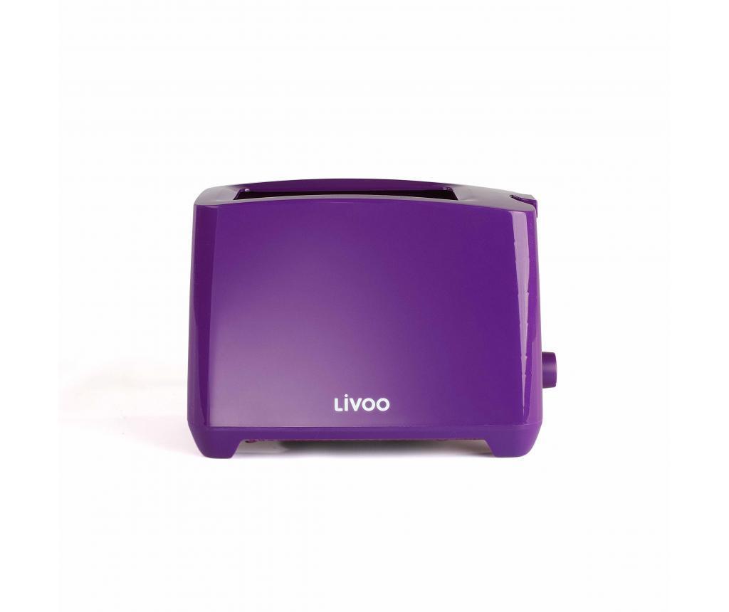 Prajitor de paine Livoo Purple imagine
