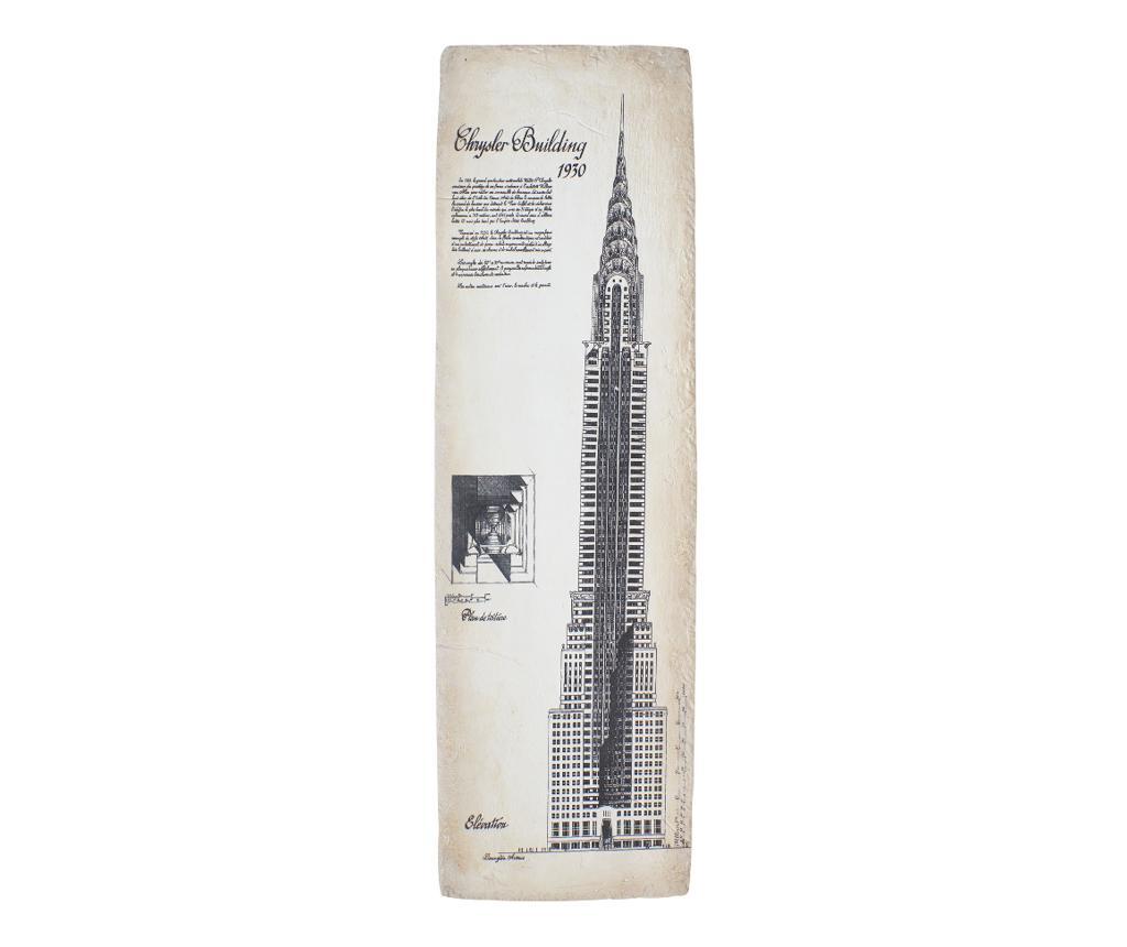 Decoratiune Chrysler Building - Novita Home, Multicolor vivre.ro