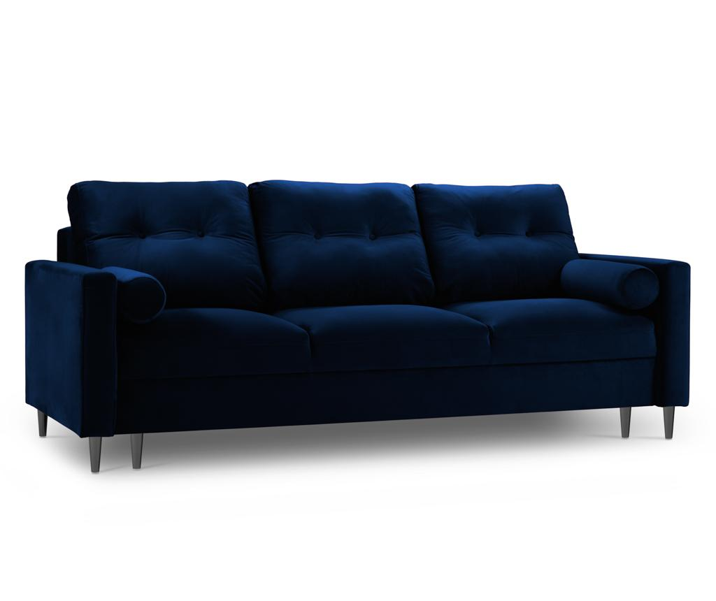 Canapea extensibila 3 locuri Nairobi Royal Blue
