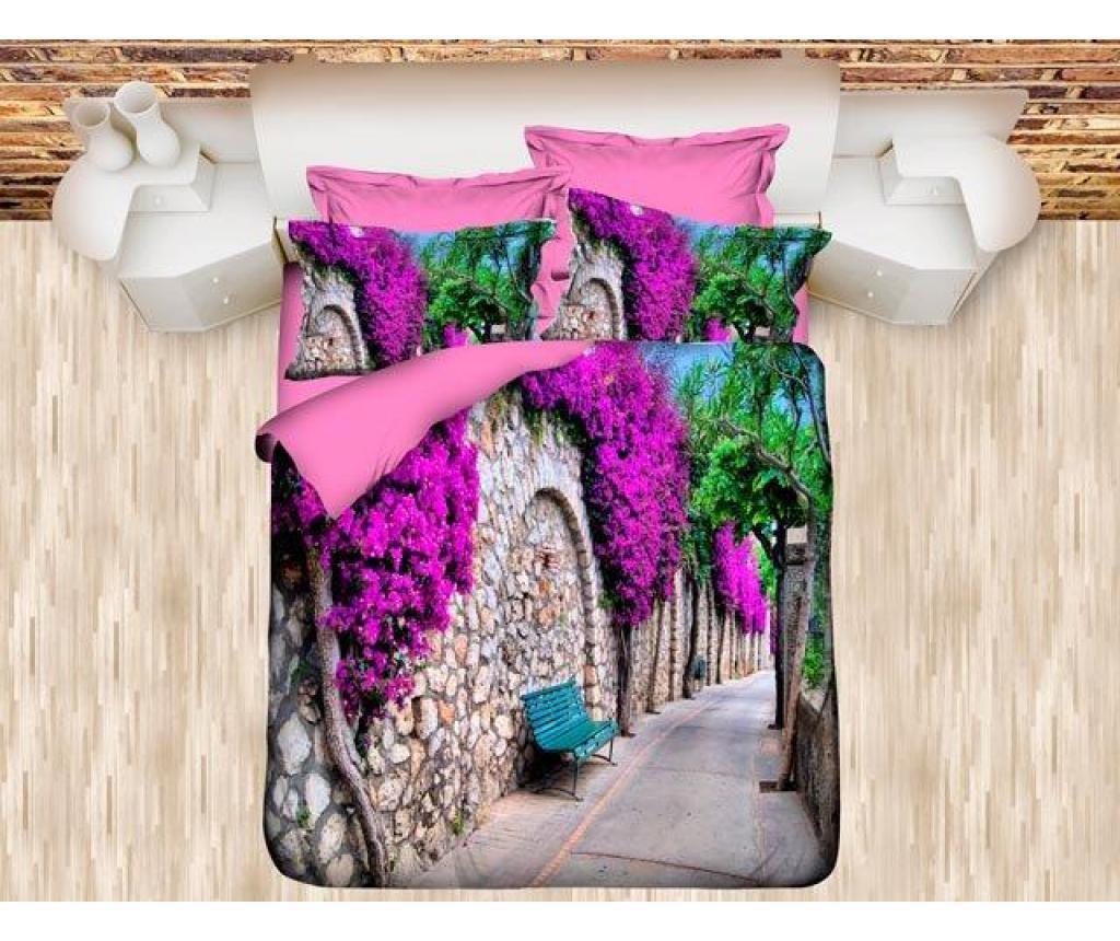 Lenjerie de pat Double Ranforce Sweet Dreams - DITEX, Multicolor poza