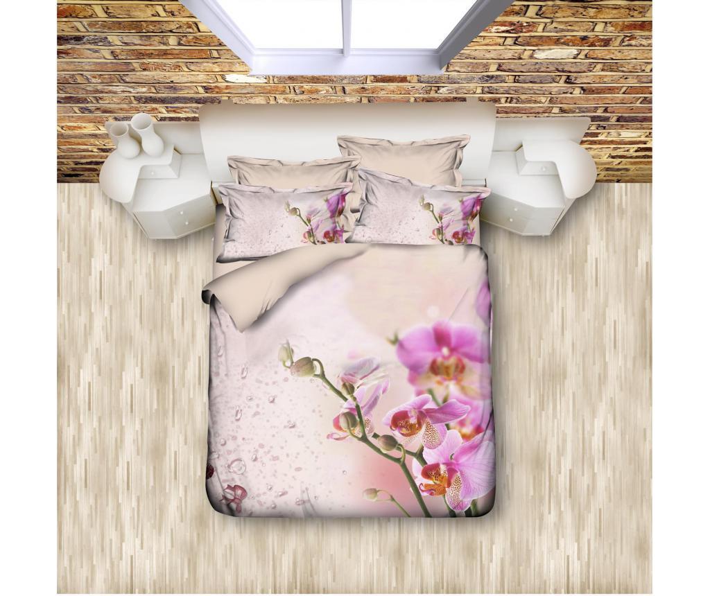 Set de pat Double Extra Ranforce Orchid - DITEX, Multicolor imagine