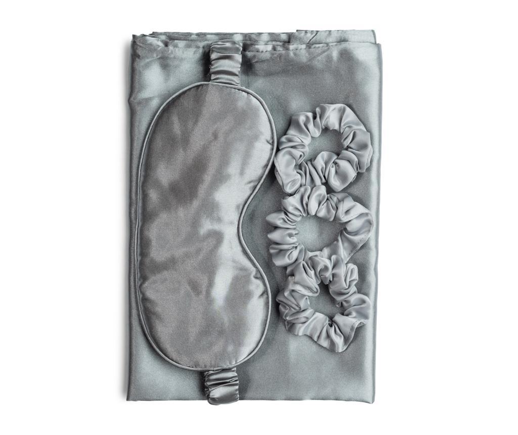 Set pentru somnul de frumusete - Zoe Ayla, Gri & Argintiu imagine