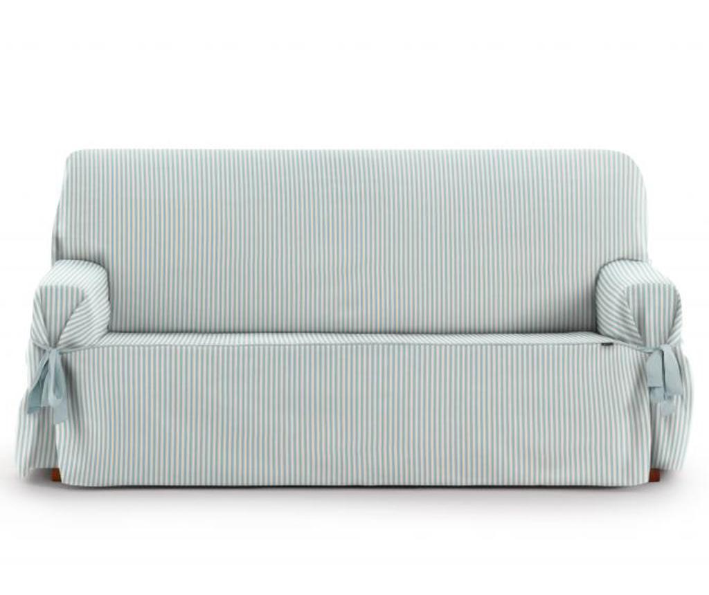 Husa pentru canapea cu 3 locuri Calma Blue 80x170 cm vivre.ro