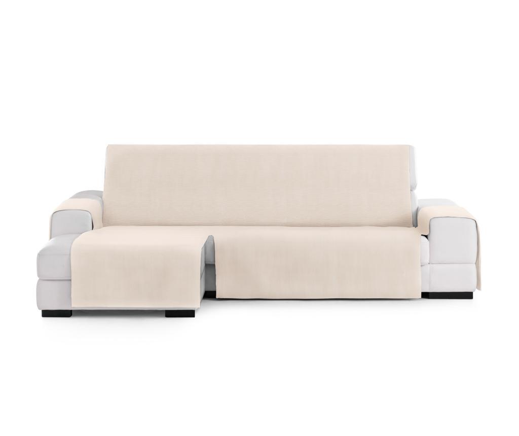 Husa pentru coltar stanga Levante Cream 80x240 cm - Eysa, Crem