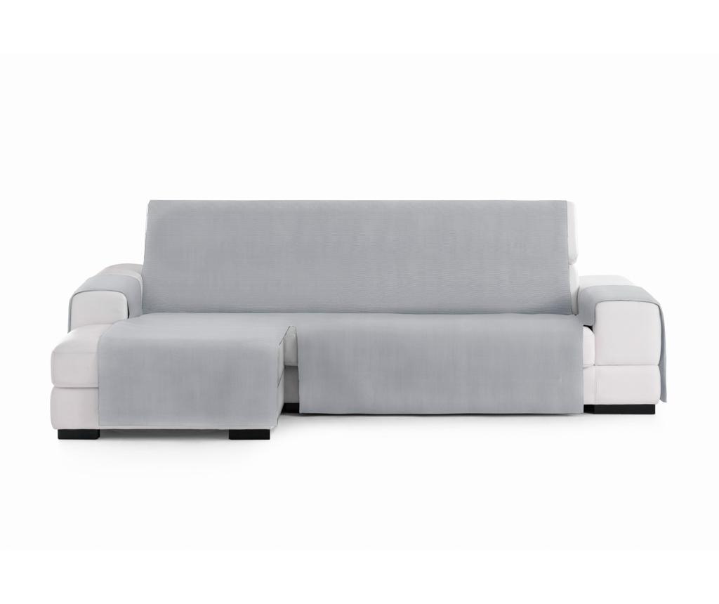 Husa pentru coltar stanga Levante Grey 80x240 cm - Eysa, Gri & Argintiu