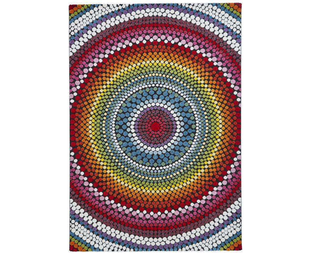 Covor Mosaic Multicolor 160x220 cm - Think Rugs, Multicolor imagine
