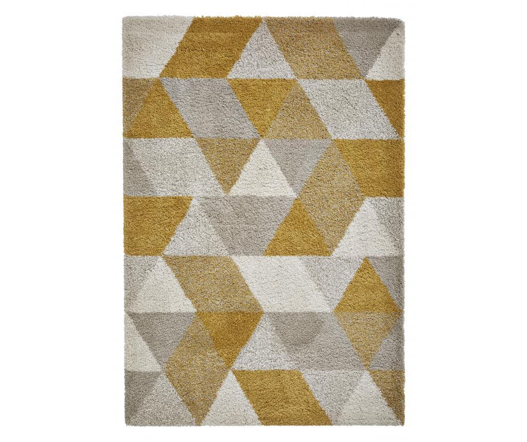 Covor Royal Nomadic Brown Yellow 120x170 cm - Think Rugs, Galben & Auriu,Maro imagine