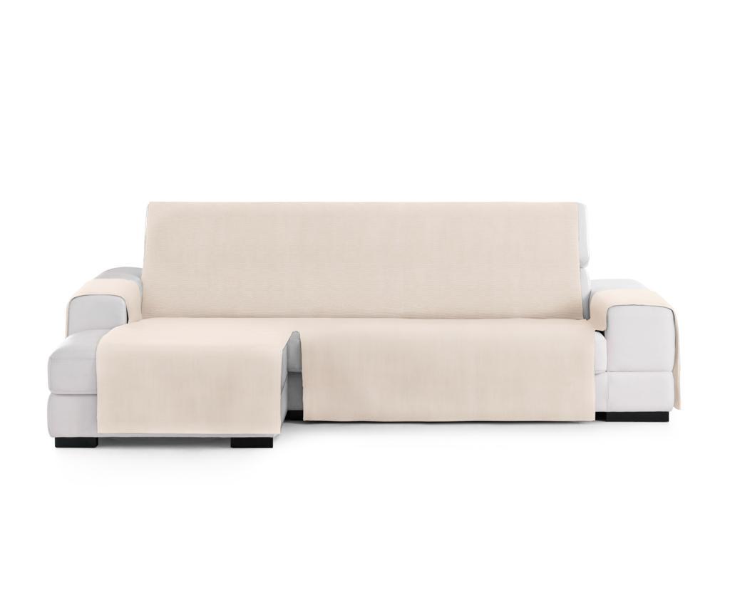 Husa pentru coltar stanga Levante Cream 80x290 cm - Eysa, Crem imagine