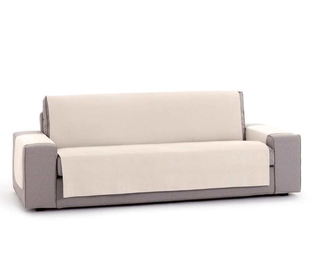 Husa pentru canapea cu 2 locuri Levante Cream 80x110 cm imagine