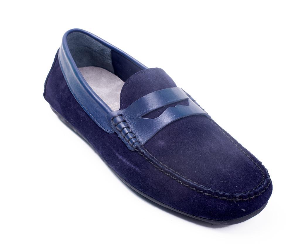 Mocasini Pentru Barbati Glenn Blue 43