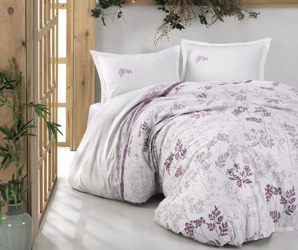 Lenjerie de pat Double Ranforce Lavenda Purple