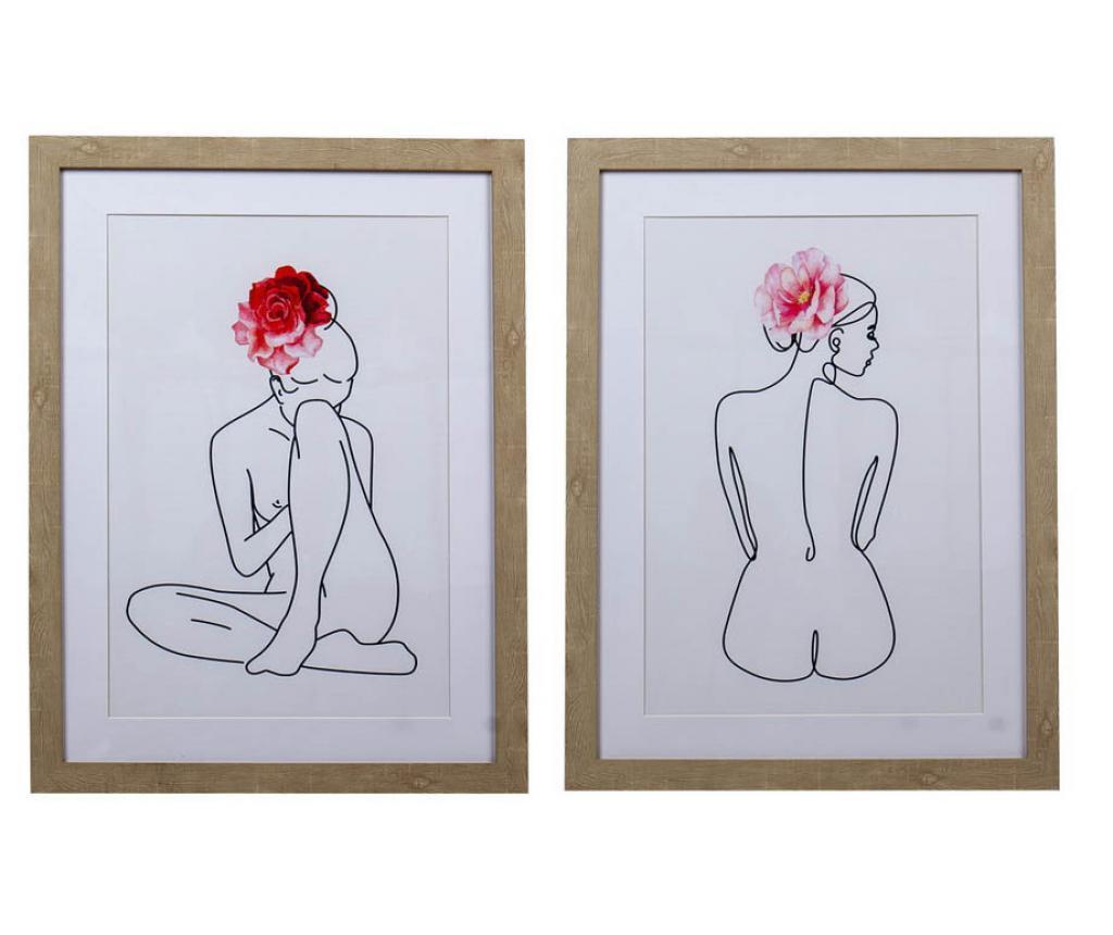 Set 2 tablouri Viki 45x60 cm