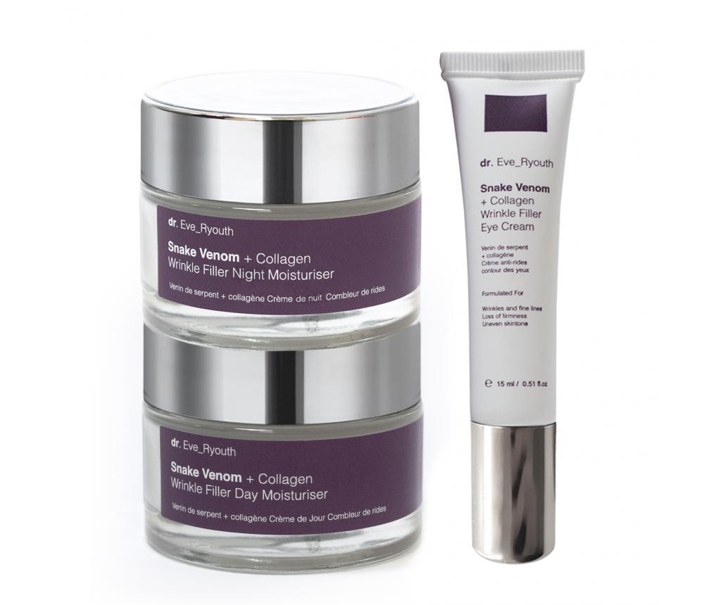 Set 3 produse pentru ingrijire faciala Wrinkle Filler 50 ml