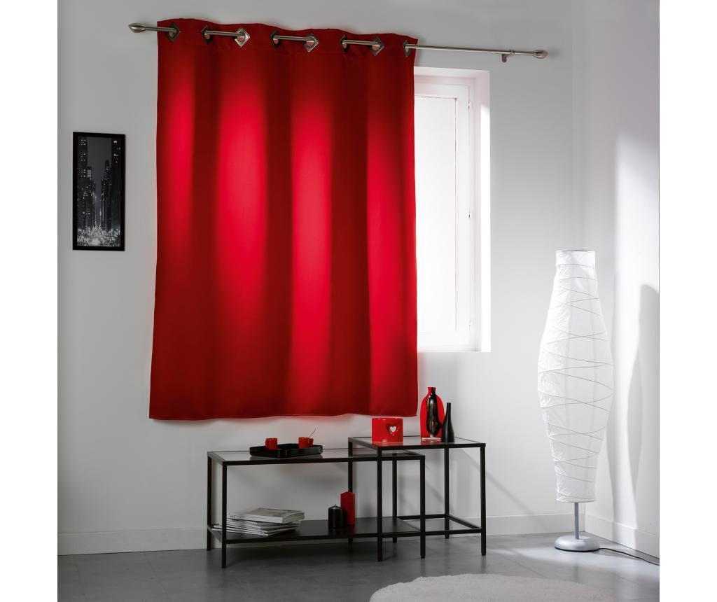 Draperie Cocoon Red 140x180 cm - douceur d'intérieur, Rosu