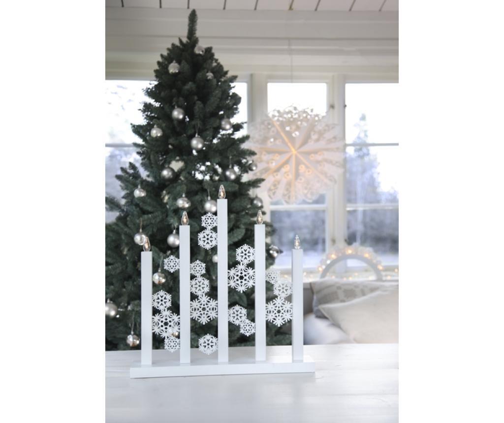 Decoratiune luminoasa Snowfall - Best Season, Alb imagine