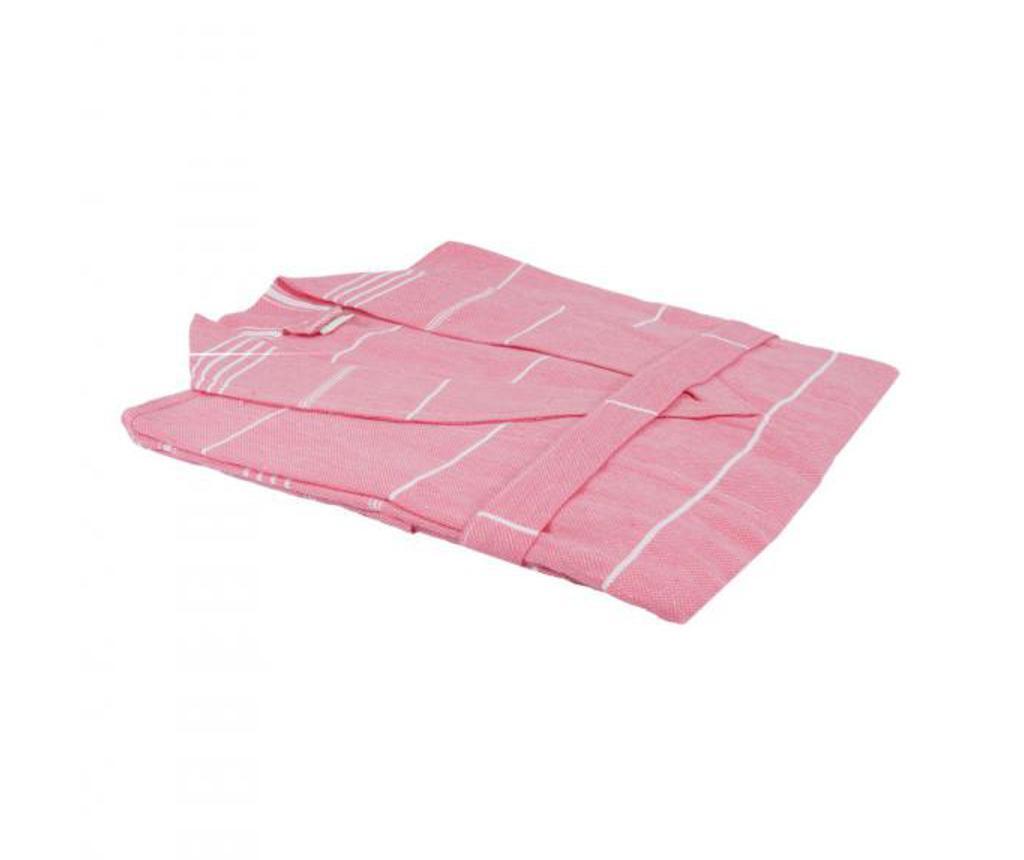 Halat de baie din peshtemal Classic Pink - Bedinn, Roz poza
