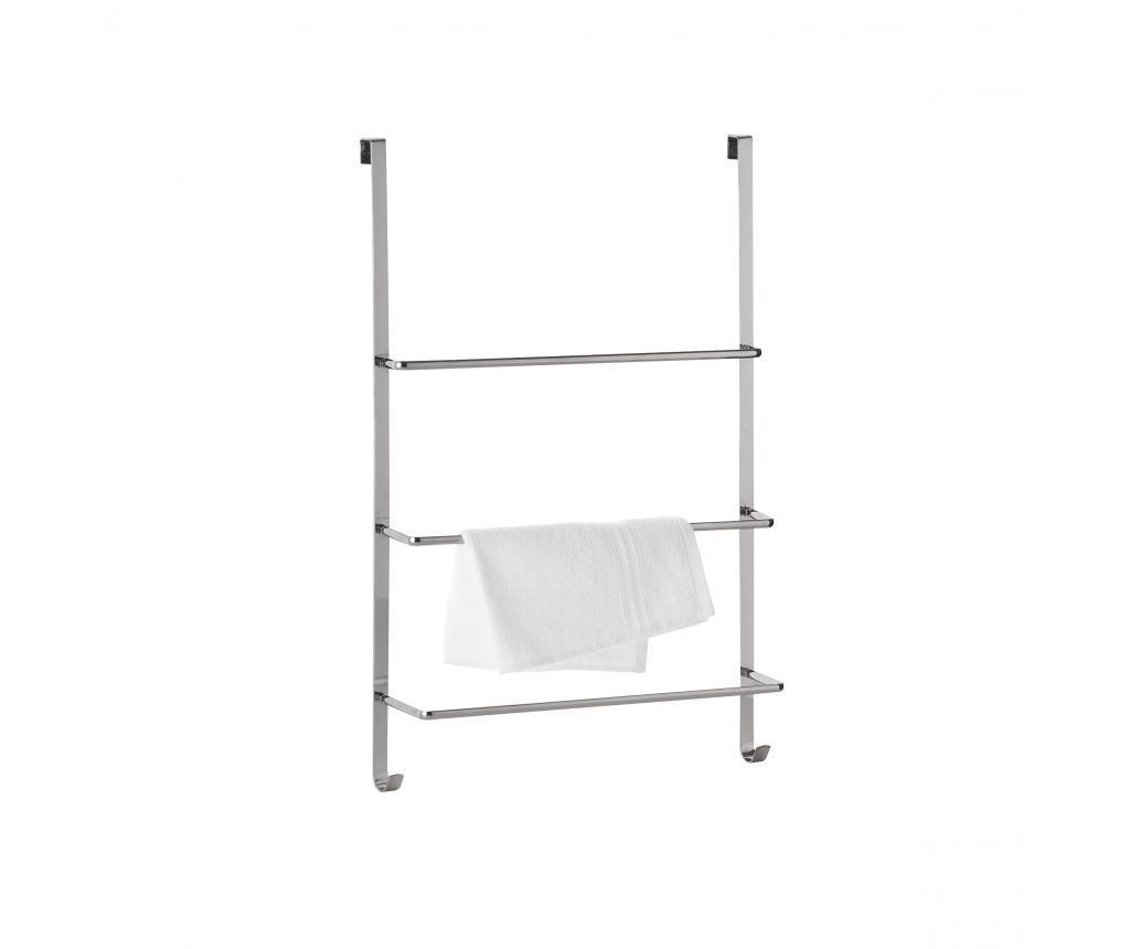 Raft pentru baie - Axentia, Gri & Argintiu imagine