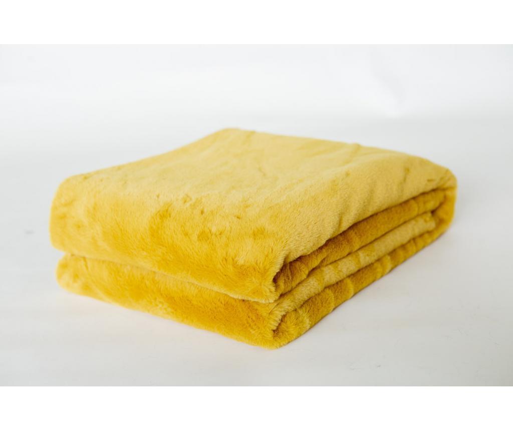 Pled amaril 130x170 cm imagine