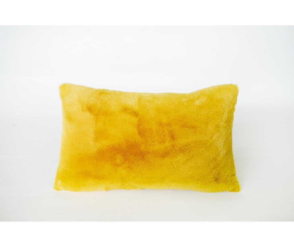Perna decorativa amaril 30x50 cm imagine