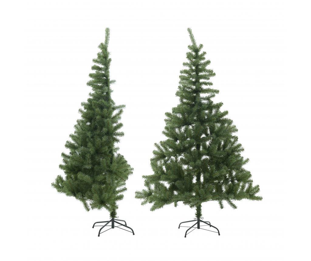 Brad de Craciun artificial Half Tree Green imagine