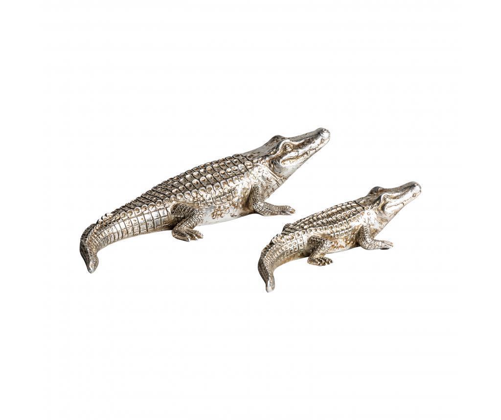 Set 2 decoratiuni Crocodiles