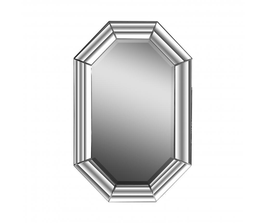 Oglinda Curves - Burkina, Gri & Argintiu poza