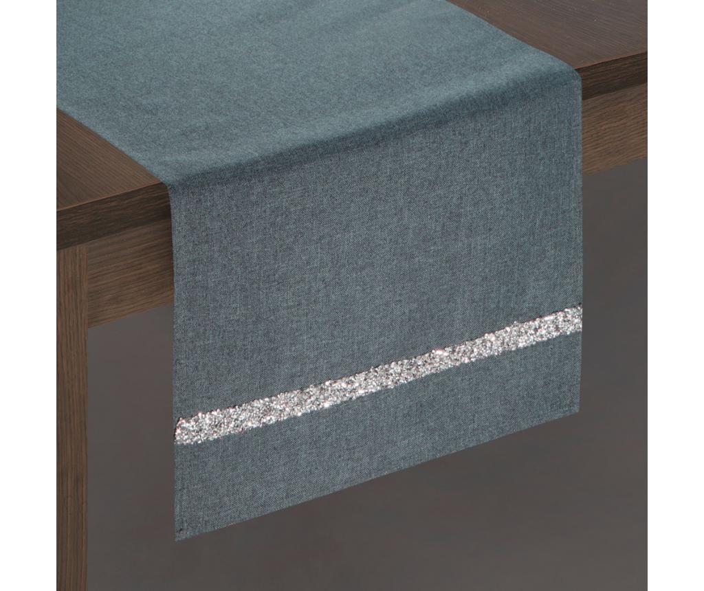Traversa de masa 33x140 cm - Eurofirany, Gri & Argintiu poza