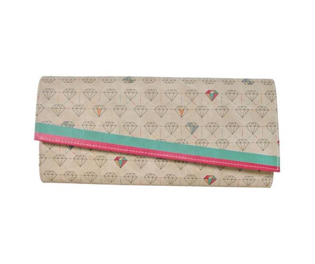 Geanta clutch Diamonds Forever - DOGO, Multicolor poza