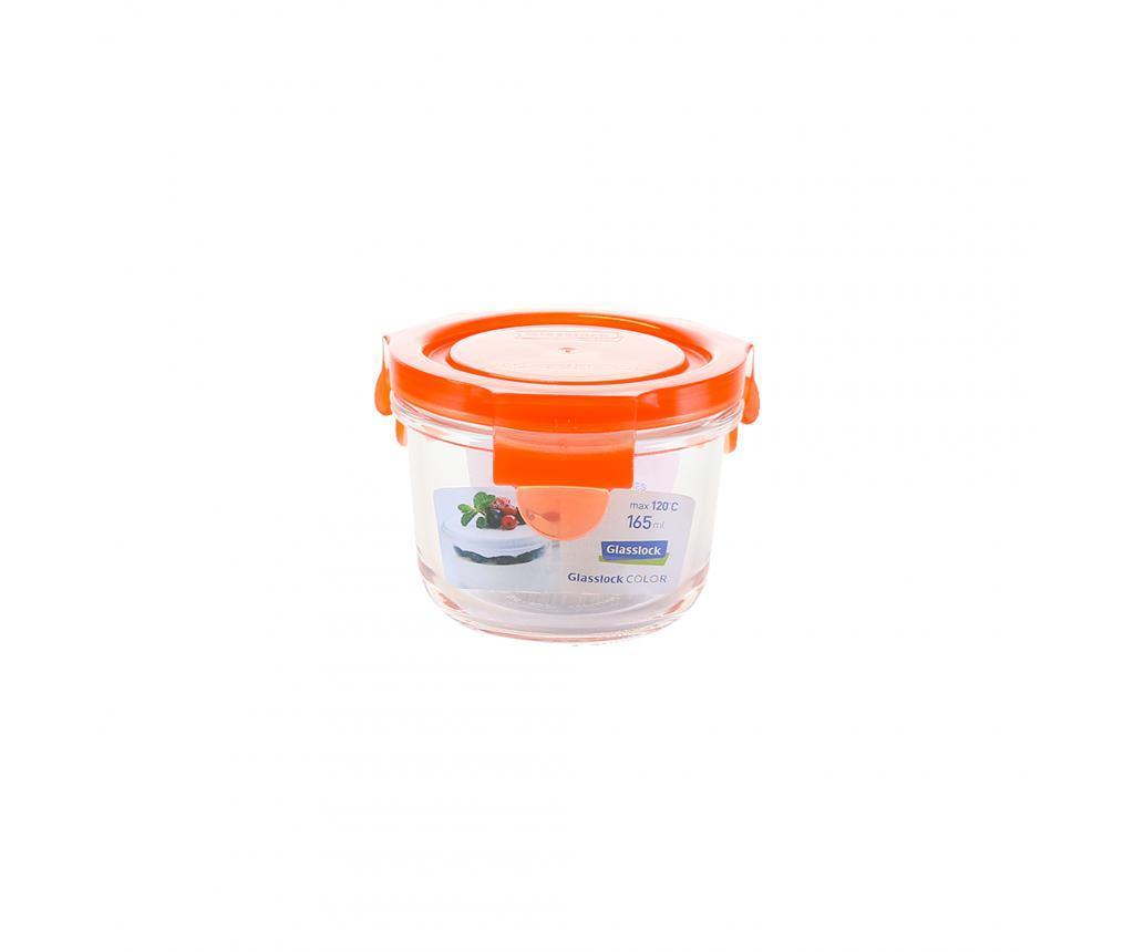 Bol cu capac ermetic Compact Classic Orange 165 ml