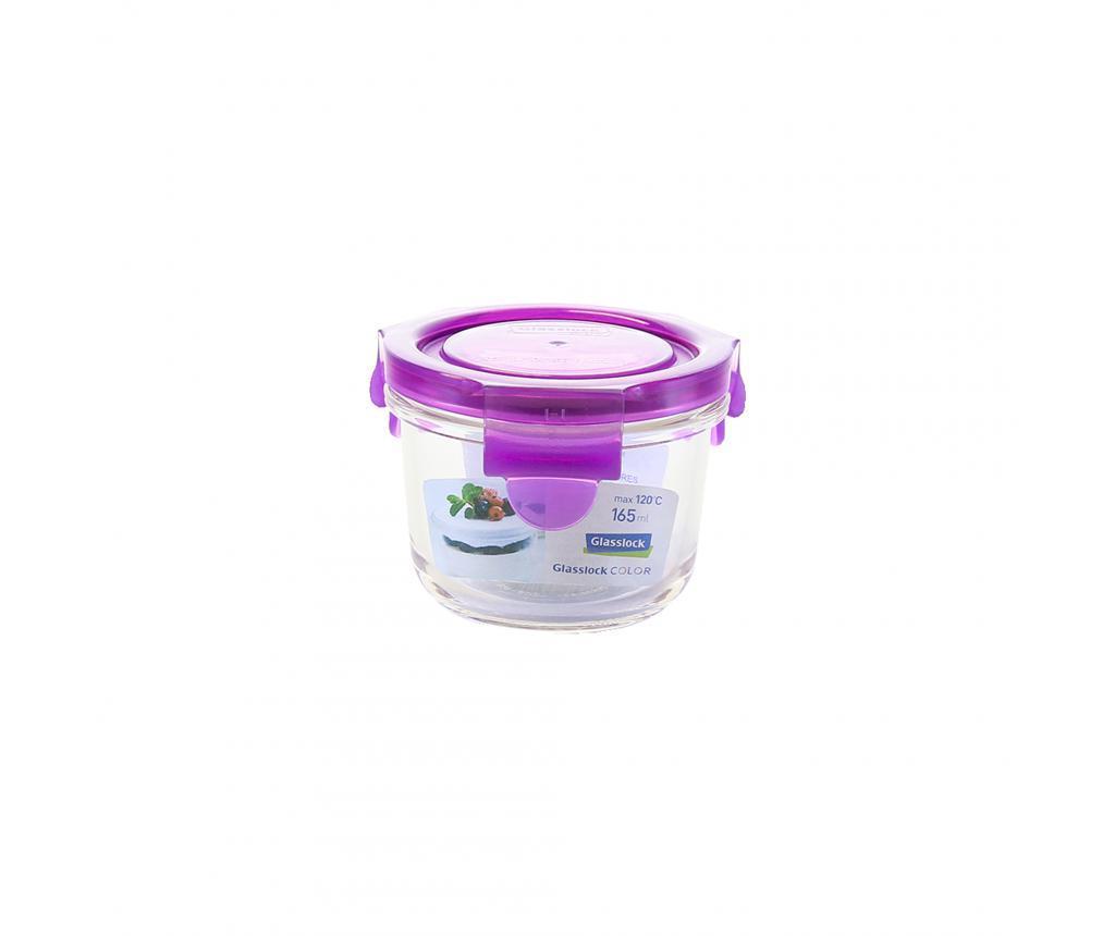 Bol cu capac ermetic Compact Classic Purple 165 ml