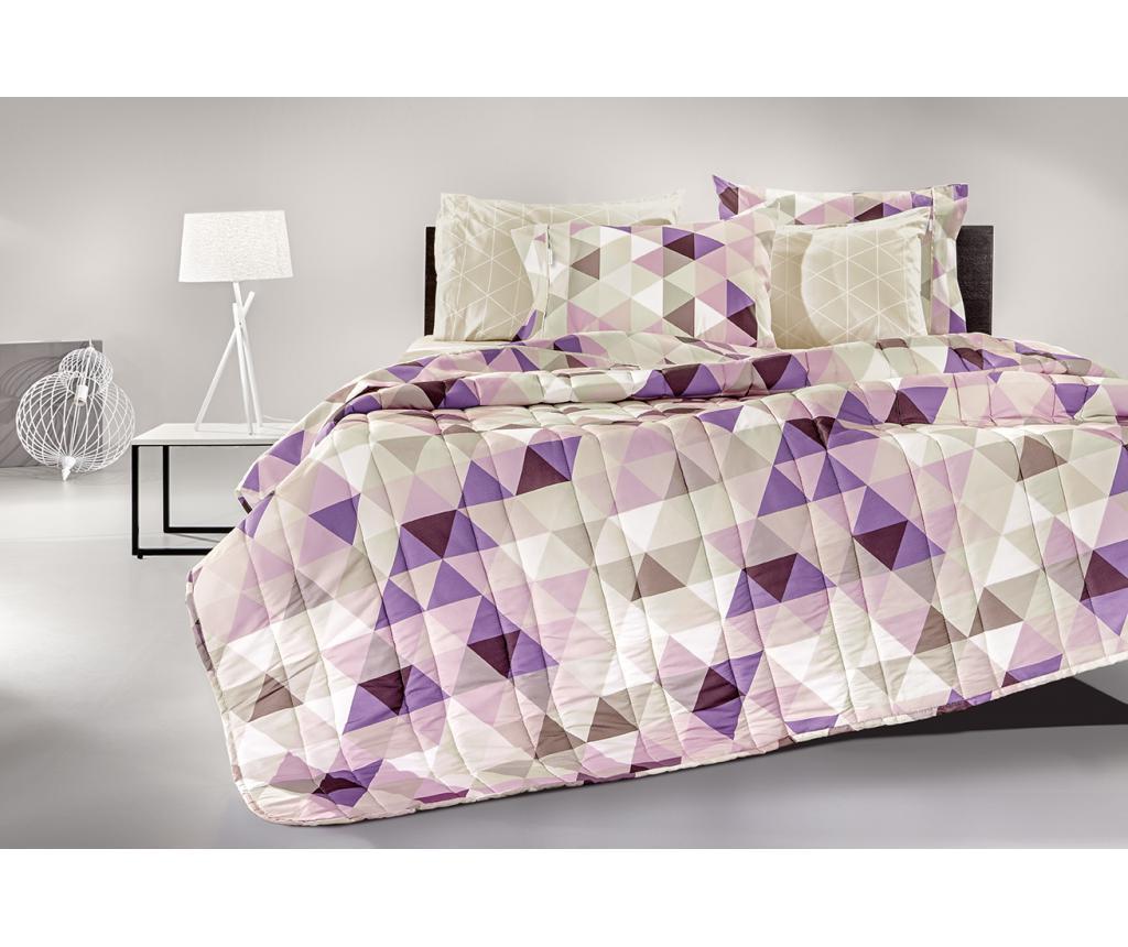 Set de pat Double Extra Target Lilac vivre.ro