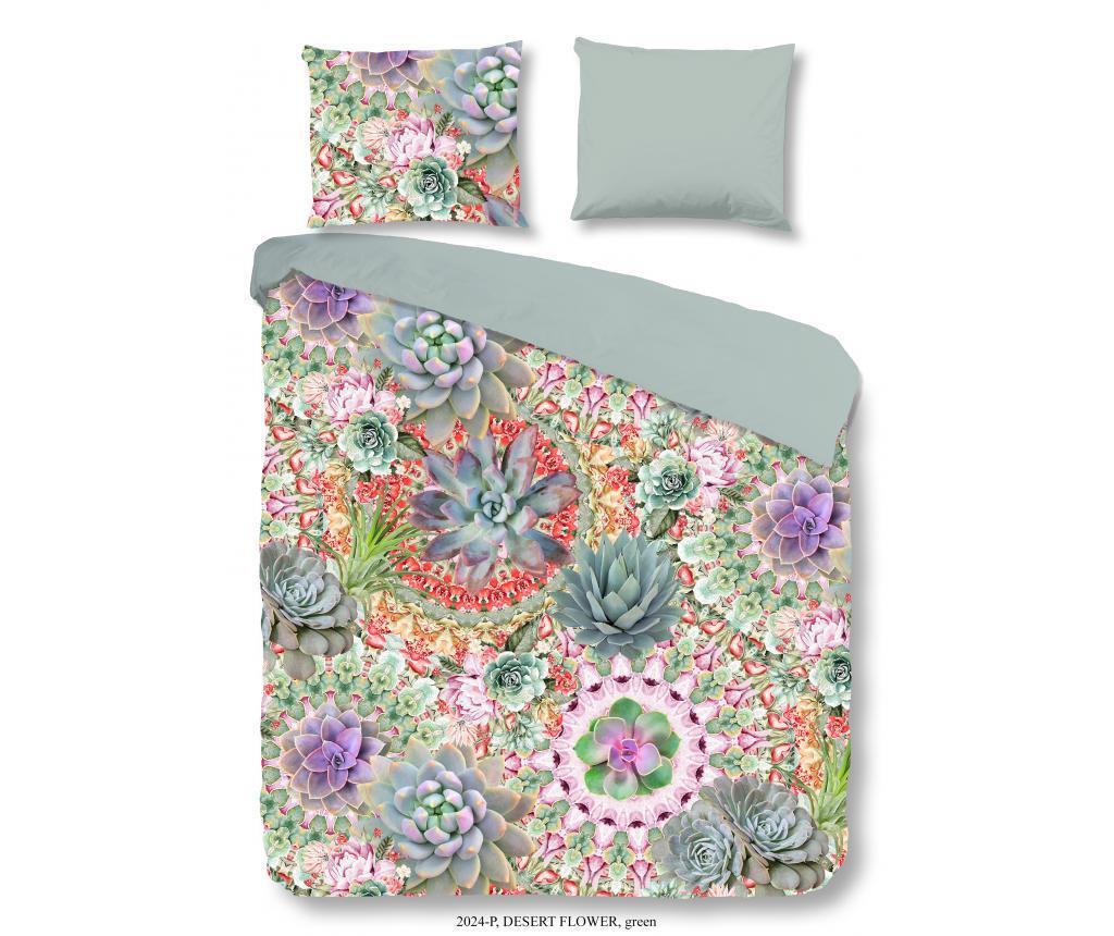 Set de pat Single Desert flower - Good Morning, Multicolor