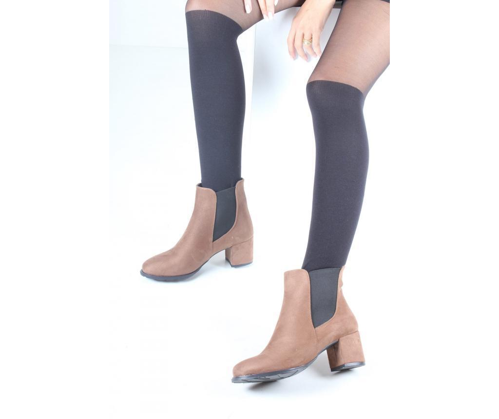 Botine dama 36 - inan shoes, Maro poza