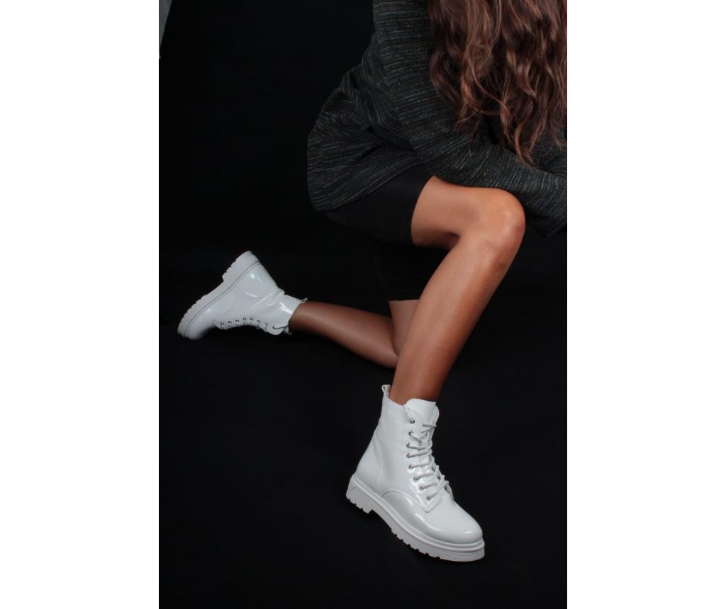 Ghete dama 37 - inan shoes, Alb vivre.ro