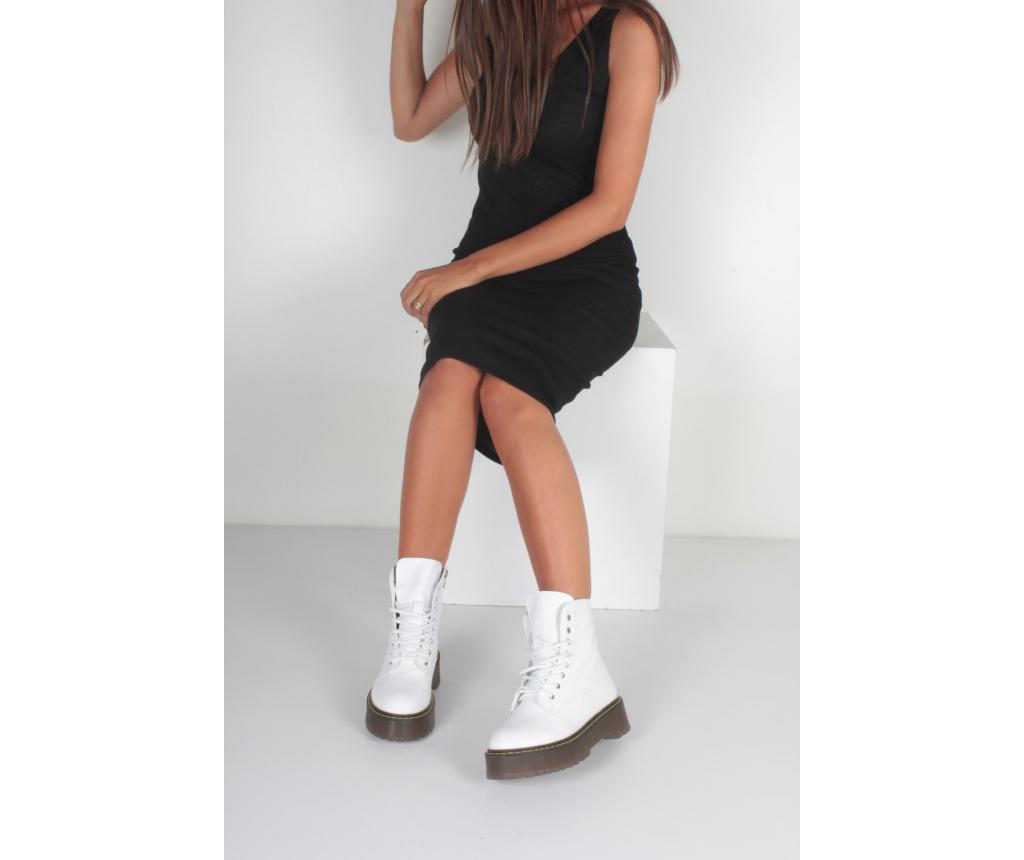 Ghete dama 36 - inan shoes, Alb vivre.ro