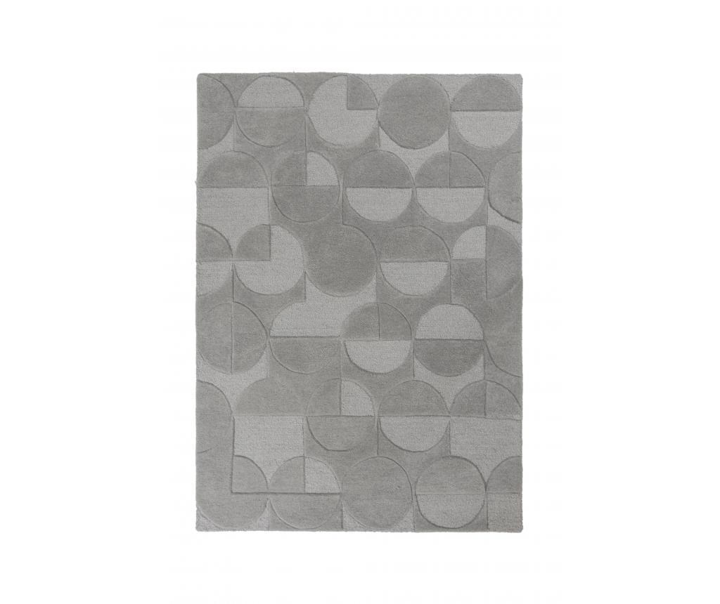 Covor Moderno Gigi Grey 120x170 cm - Flair Rugs, Gri & Argintiu